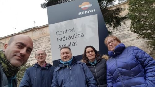 VISITA A LA CENTRAL HIDROELÉCTRICA DE AGUILAR